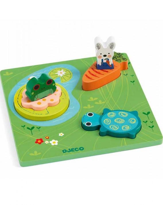 123-froggy-3d-puzzle