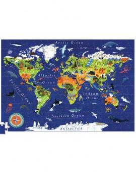 puzzle-200-poster-mapamundi-animales1