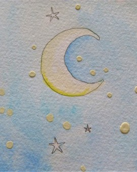1er plano luna oso polar mimos conejo