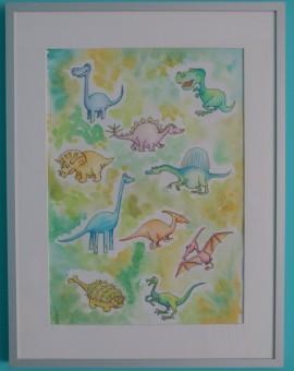 dinosaurios enmaracados