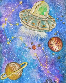 espacio- extraterrestre