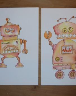 pareja robot